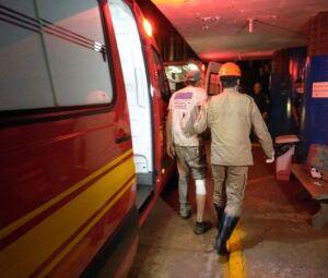 Socorrista do Bombeiro Militar encaminhou a vítima para hospital foto
