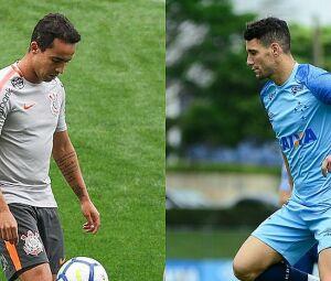 Jadson, pelo Corinthians, e Thiago Neves, pelo Cruzeiro, serão peças importantes na final de hoje