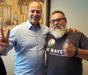 Pacca fez campanha para Witzel nas últimas eleições