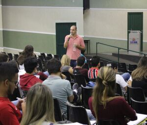 Palestra com Ricardo Gomes