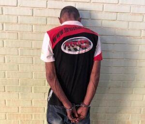 Ney foi preso e encaminhado para a Derf