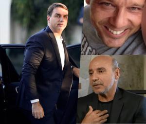 Flávio Bolsonaro, Wellington Sérvulo Romano da Silva e Fabrício de Queiroz