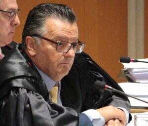 Desembargador Vilson Bertelli, relator do processo no TJ, durante sessão