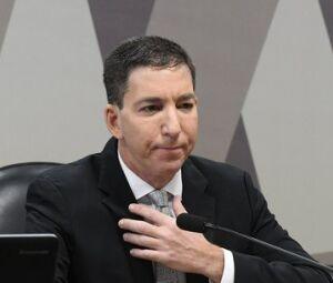 Greenwald esteve hoje em comissão do Senado Marcos Oliveira/Agência Senado - 11.07.2019