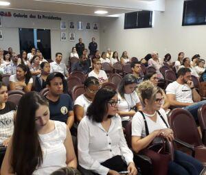 Atividade na manhã desta quinta, no auditório da OAB, encerra capacitação permanente do Comad em Dourados