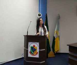 A diretora-presidente da Fundação de Cultura de Mato Grosso do Sul (FCMS) e presidente do PSDB Mulher, Mara Caseiro