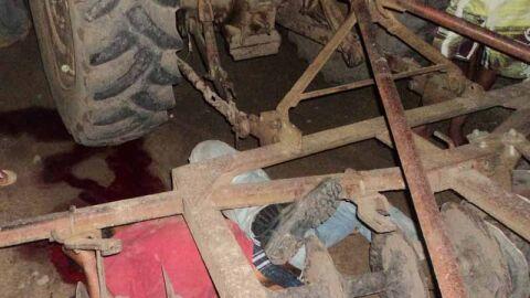 Trabalhador rural cai de trator e acaba atingido e morre