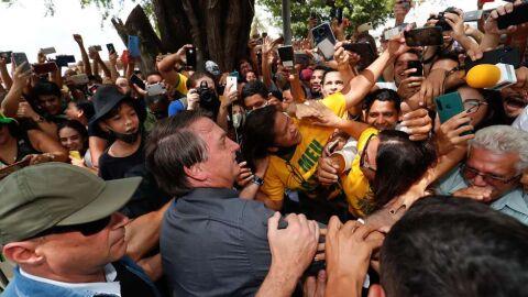 "Homofobia? ""Virei boiola, igual maranhense"", diz Bolsonaro"