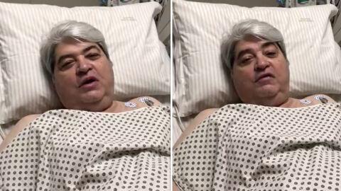 Vídeo: Datena é operado após sentir dores no peito