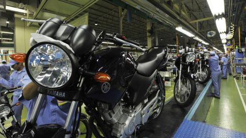 Produção de motocicletas aumenta 13,1% em setembro