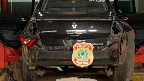 Mecânico é preso com 85 quilos de cocaína escondida em carro