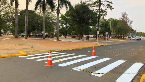 Detran inicia obras de sinalização viária em oito municípios do interior