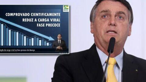 Após mentira sobre pesquisa da Covid-19, '#BolsonaroCharlatão' é trending topics