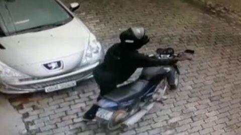 Moto é furtada no centro de Sidrolândia nesta madrugada