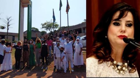 Vídeo: Mara, da FCMS, mente para artístas e lança edital 'com punição' após manifestação