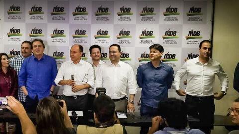 MDB busca dar a volta por cima disputando prefeituras de 35 municípios