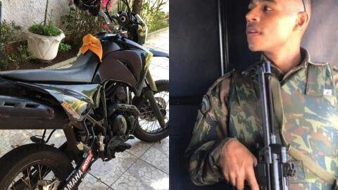 Soldado da FAB de apenas 22 anos morre após colisão na Vila Nhanhá