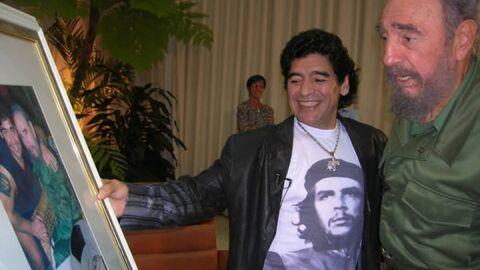 Maradona morreu no mesmo dia que seu amigo Fidel Castro