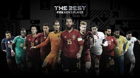 Fifa anuncia finalistas do prêmio The Best