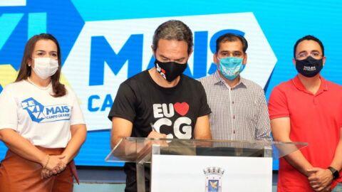 Licitação que autoriza pavimentação no Rita Vieira foi assinada nesta sexta