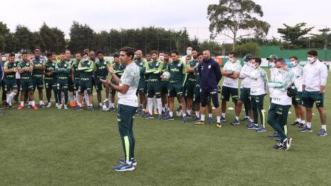 Palmeiras chega a 15 atletas infectados com Covid-19