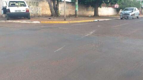 Homem morre após ser arremessado de veículo após colisão em MS