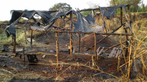 Indígena morre queimada em aldeia de MS