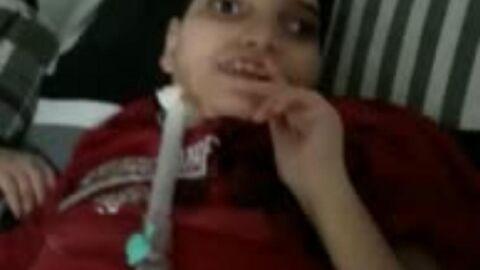 Vídeo: Mãe pede ajuda para manter filho vivo; ela pode ser despejada da casa onde vivem