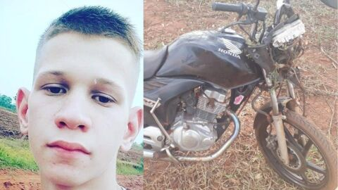 Jovem de 15 anos morre ao bater moto durante 'racha' com amigo de 16 anos