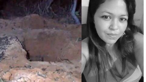 Barbárie: ex-marido passa corda no pescoço de mulher, estupra, mata e enterra no MT