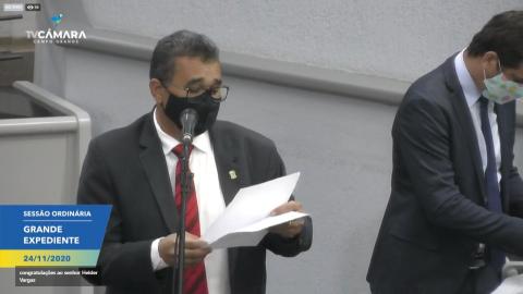 Ao vivo: retorno à sessão na Câmara Municipal de Campo Grande