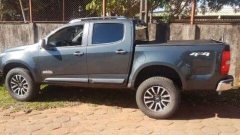 Polícia recupera em Campo Grande, caminhonete furtada em Bonito