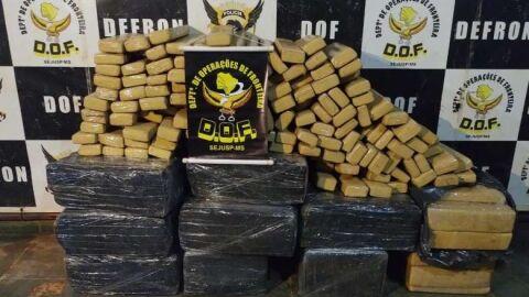 Polícia fecha local que funcionava como depósito de drogas em Dourados