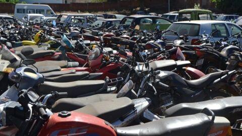 Detran-MS faz leilões para arremate de 556 veículos, entre carros, motos e sucatas aproveitáveis
