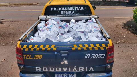 Homem é preso com carga de mais de 450 celulares contrabandeados