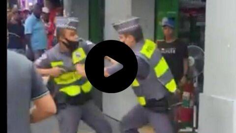 """Vídeo: """"Atira na bunda dele"""", diz testemunha durante bate-boca entre PMs"""