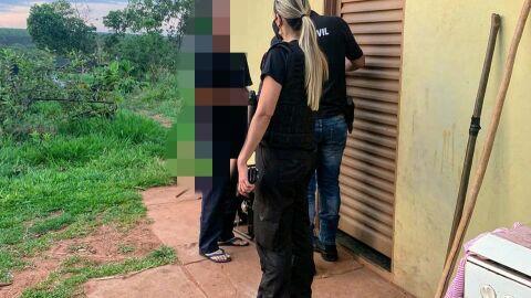 Casal é preso por estupro e maus-tratos de quatro filhos em assentamento