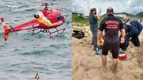 Professora morre afogada ao cair de pedra quando fazia fotos na praia