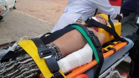 Criança é abandonada ferida no meio da rua após acidente em MS