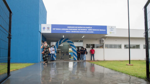 Unidade de Saúde é inaugurada após 9 anos no Aero Rancho