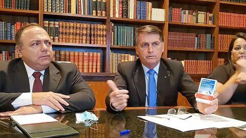"""TCU diz ser ilegal compra das cloroquinas feitas a pedido do """"doutor Bolsonaro"""""""