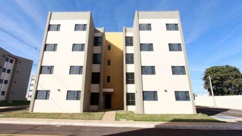 A lista com nomes dos 105 ganhadores de apartamentos na Capital