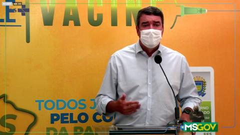 Ao vivo: dados atualizados sobre a Covid-19 e informações sobre vacinação