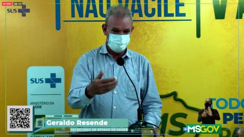 Ao vivo: Dados atualizados sobre o coronavírus e MS