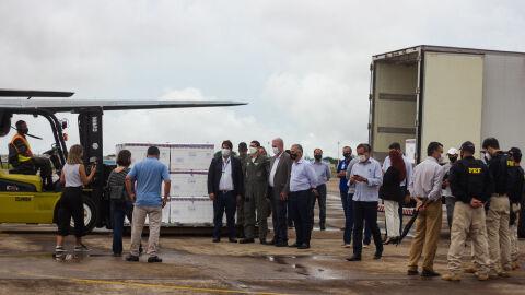 Mato Grosso do Sul entrega vacinas para 79 municípios em menos de 24h