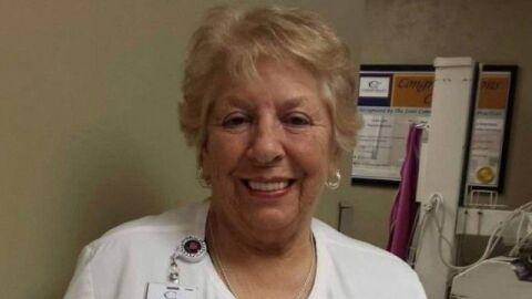 Enfermeira, Betty adiou aposentadoria para lutar contra o vírus e não fez 79 anos