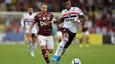 Duelo entre Flamengo e São Paulo ao vivo, grátis na internet; veja onde assistir