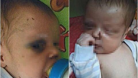 Pai espanca bebê de um mês por não suportar seu choro