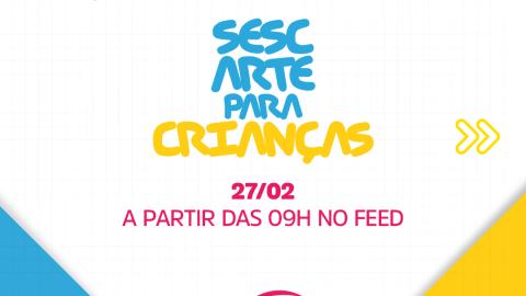 Sesc promove atividade de pintura e colagem gratuita para crianças neste sábado