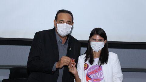 Camila Jara torna-se representante da Procuradoria Especial da Mulher